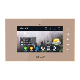 IP видеодомофон BAS-IP AQ-07L GOLD