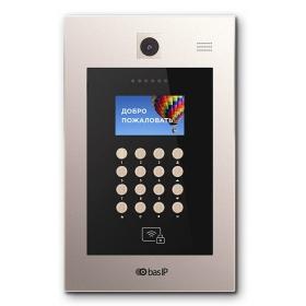 Многоабонентская вызывная IP видеопанель BAS-IP AA-09M GOLD