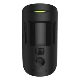 Бездротовий датчик руху з фотокамерою Ajax MotionCam чорний
