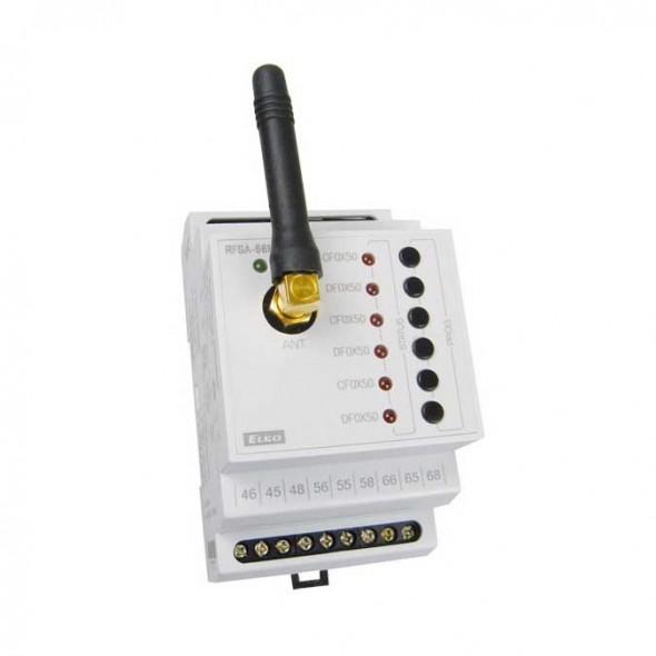 6-канальное беспроводное реле iNELS RFSA-66M - фото