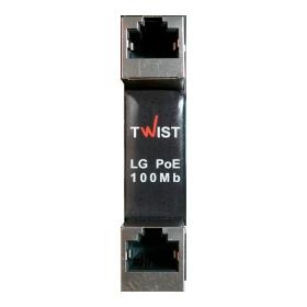 Устройство грозозащиты TWIST LG-PoE-100Mb-2U