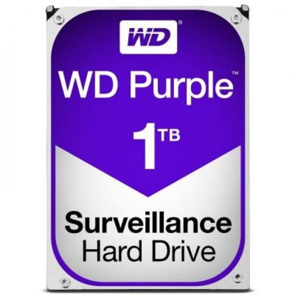 """Жесткий диск 3.5"""" 1TB Western Digital (WD10PURZ) - фото"""