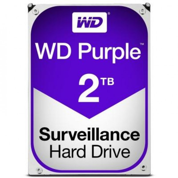 """Жесткий диск 3.5"""" 2TB Western Digital (WD20PURZ) - фото"""