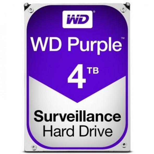 """Жесткий диск 3.5"""" 4TB Western Digital (WD40PURZ) - фото"""
