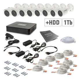 Комплект відеоспостереження Tecsar 8OUT+1TБ HDD