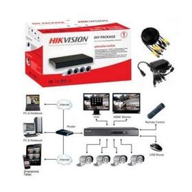 Комплект відеоспостереження Hikvision DS-J142I/7104HGHI-F1 (4 out)