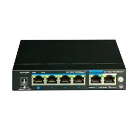 PoE коммутатор 4-портовый неуправляемый UTP3-GSW04-TPD60
