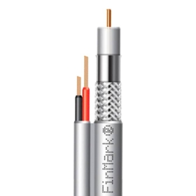 Кабель коаксіальний абонентський FinMark F5967BV-2x0.75 POWER