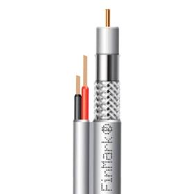 Кабель коаксиальный абонентский FinMark F5967BVcu-2x0.75 POWER