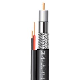 Кабель коаксіальний абонентський FinMark F690BV-2x0.75 POWER