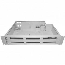 Патч панель оптична 19″ 2U (LITE) | 48-SC/FC/ST, 96-LC(DUPLEX)