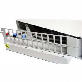 Патч панель оптическая 19″ 2U | 48-SC/FC/ST, 96-LC(DUPLEX)