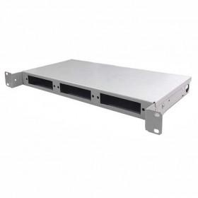 Патч панель оптична ODF 1U IPCOM | 24-SC/FC/ST, 48-LC(DUPLEX)