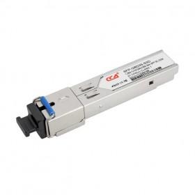 SFP-WDM-1GB (1310, 1550) | ОДНЕ ВОЛОКНО, SC, 3KM | ОПТИЧЕСКИЙ МОДУЛЬ